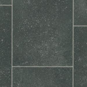 Sample of Tile Effect 0550 Non Slip Felt Back Back Vinyl Flooring