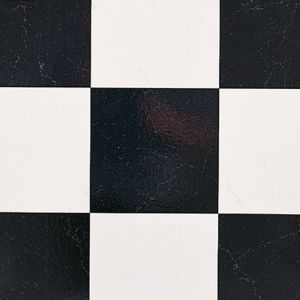 4017 Non Slip Tile Effect Vinyl Flooring