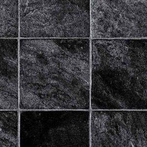 6251 Dark Stone Effect Non Slip Vinyl Flooring
