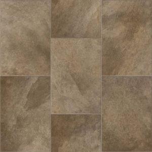 639M Bilbao Non Slip Tile effect Vinyl Flooring