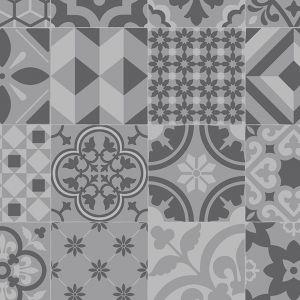 090M Retro Designer Moroccan Vinyl Flooring