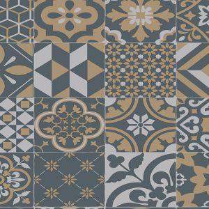 Retro 730M Moroccan Designer Vinyl Flooring
