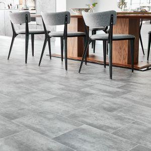 673 Non Slip Stone Effect Vinyl Flooring