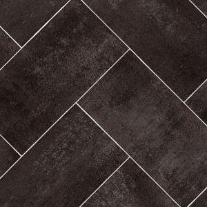 Sample- 598 Tile Effect Anti Slip Vinyl Flooring