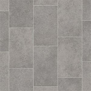 Boulevard Tile Effect Non Slip Vinyl Flooring