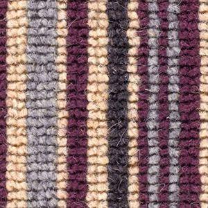 Cheltenham Stripe 01 Aubergine Red Beige Carpet