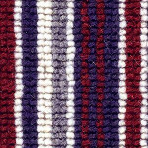 Cheltenham Stripe 02 Burgundy Red Carpet