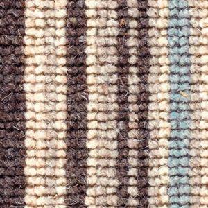 Cheltenham Stripe 04 Duck Egg Blue Beige Carpet