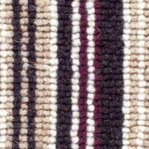 Cheltenham Stripe 06 Midnight Black Beige Carpet