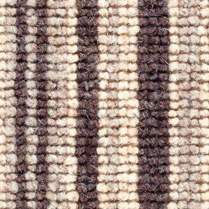 Cheltenham Stripe 08 Slate Grey Beige Carpet
