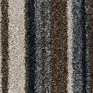 City Twist Supreme 13 Mocha Stripe Beige Grey Carpet