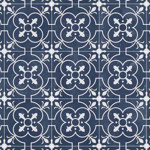 770D Designer Tile Effect Non Slip Vinyl Flooring