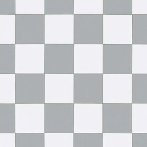909M Anti Slip Checkered Tile Effect Lino Flooring