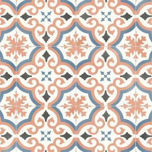 FFEP516E Tile Effect Anti Slip Vinyl Flooring