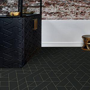 T98 Designer Effect Non Slip Vinyl Flooring