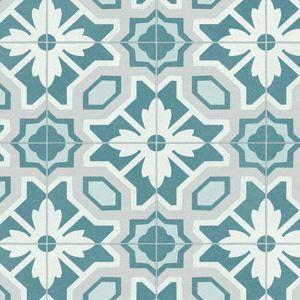 Bronson Lively Designer Effect Blue Vinyl Flooring