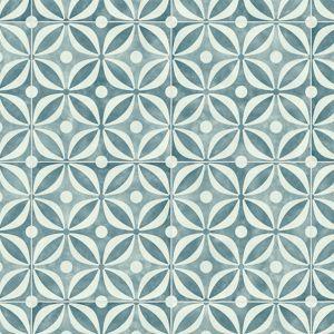 Bronson Vibrant Blue Designer Effect Vinyl Flooring