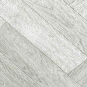 Sample of 503 Grey Wooden Plank Anti Slip Lino Flooring