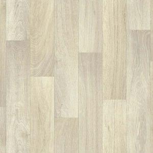 160S Natural Oak Wood Effect Anti Slip Vinyl Flooring