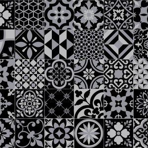 Nightlife Designer Effect Non Slip Vinyl Flooring