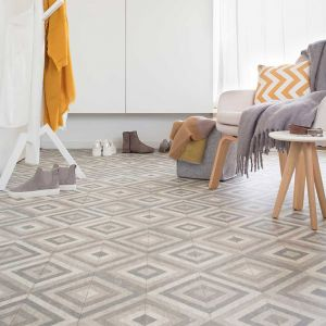Sample- 583 Designer Wood Effect Lino Flooring Lino