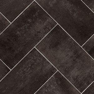 598B Non Slip Tile Effect Vinyl Flooring