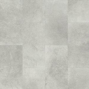 Sweetwater Anti Slip Tile Effect Textile Backing Vinyl Flooring