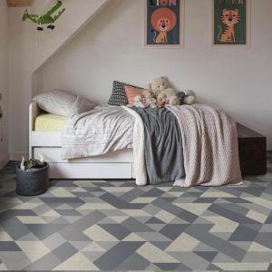 Triton 578 Tile Effect Anti Slip Gloss Finish Vinyl Flooring