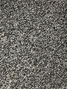Pisa 14  Black Grey Bleach Cleanable Twist Pile Carpet