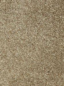 Pisa 09 Sand Dark Beige Bleach Cleanable Twist Pile Carpet