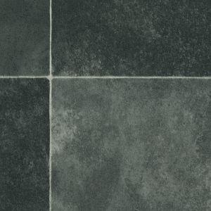 8009 Non Slip Tile Effect Vinyl Flooring